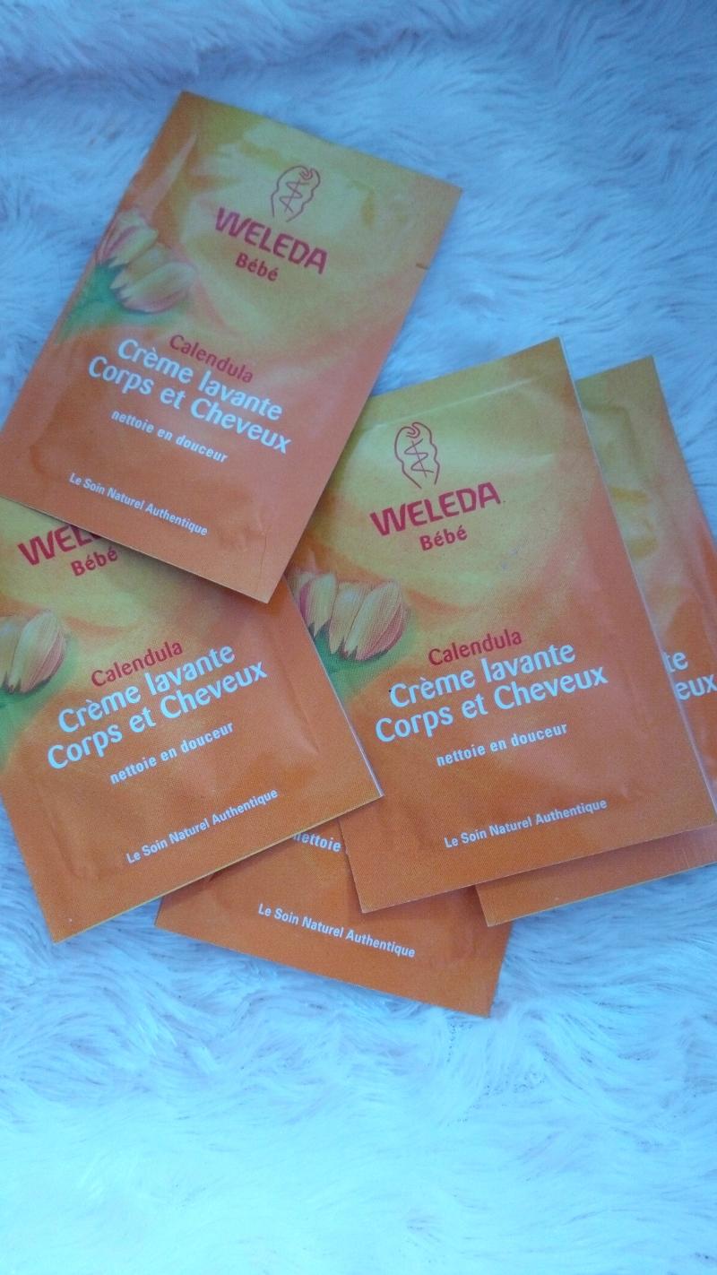 Swatch Crème Lavante Corps et Cheveux, Weleda