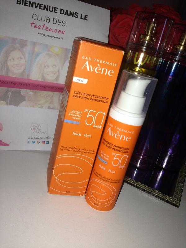 Swatch Spray Solaire SPF 50 Très Haute Protection, Avène