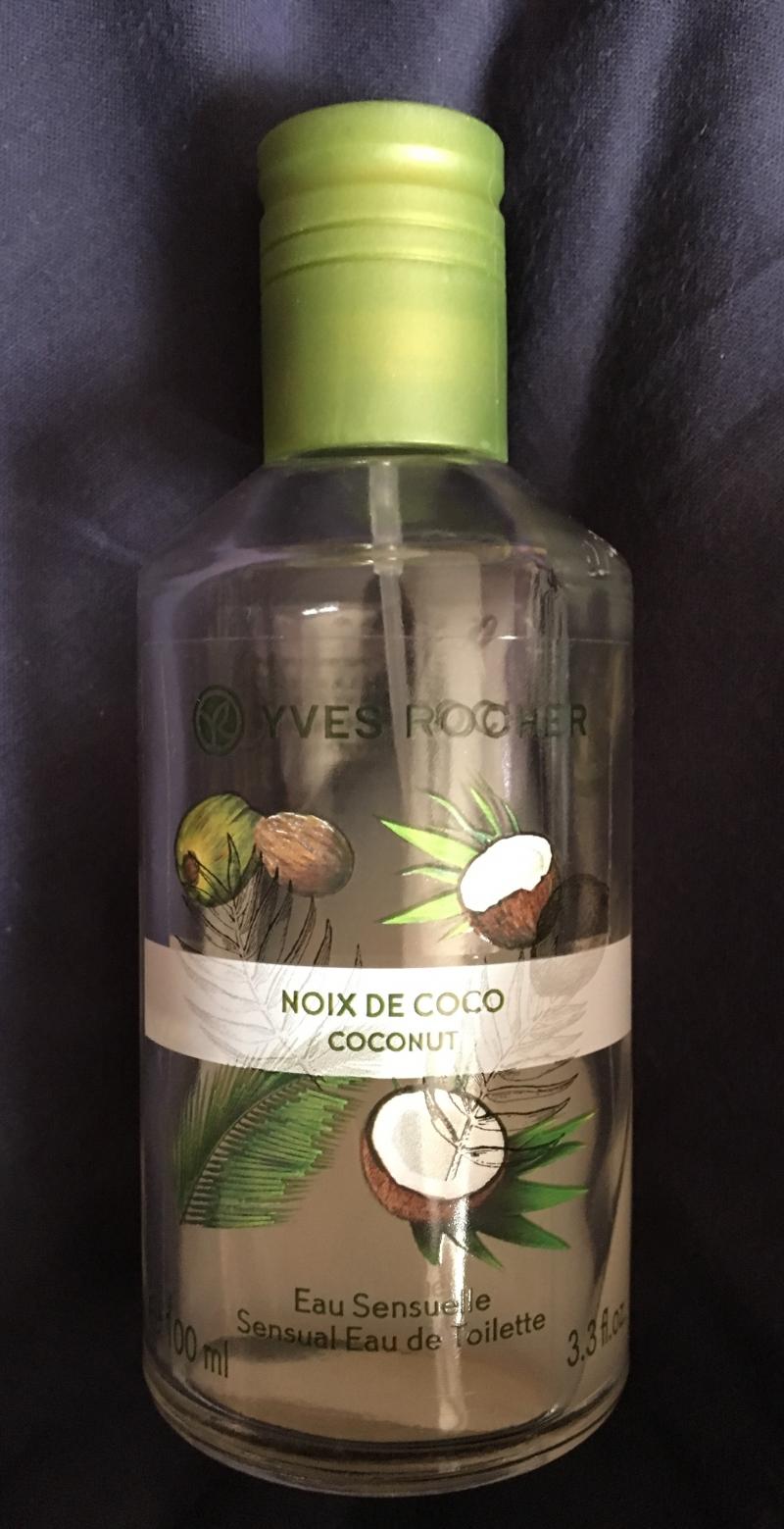 Swatch Eau de Toilette Noix de Coco de Malaisie 100ml - Les Plaisirs Nature, Yves Rocher