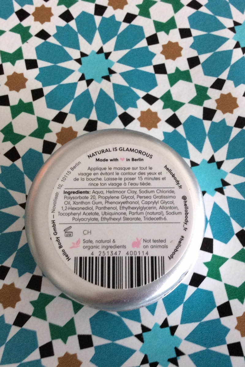 Swatch Coco Clear Detox Mask, HelloBody