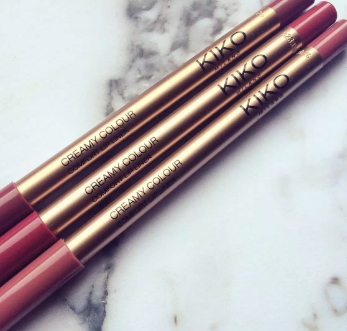 Swatch Creamy Colour Comfort Lip Liner, Kiko