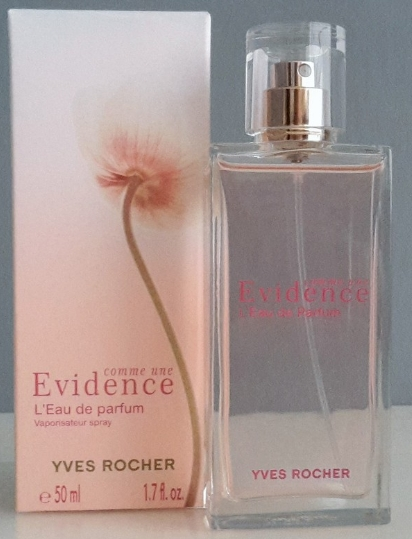 Avis Eau De Parfum Evidence Yves Rocher Parfums