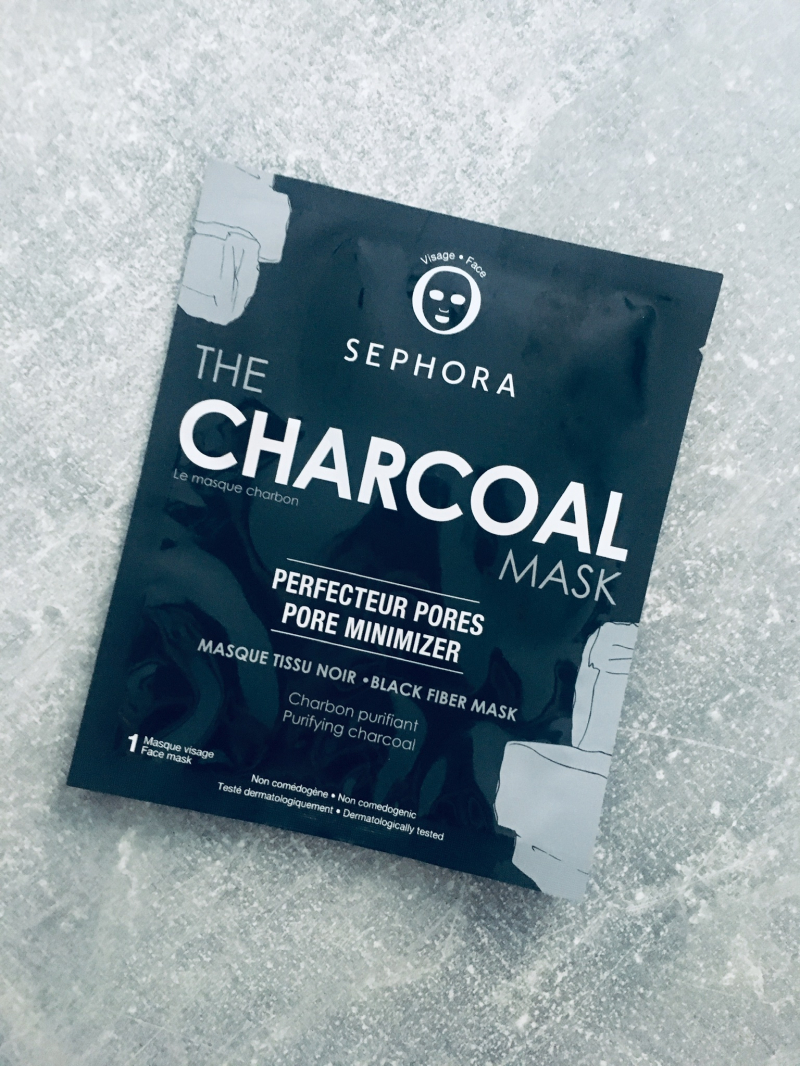 Swatch The charcoal mask-Le masque charbon - Masque tissu noir, Sephora