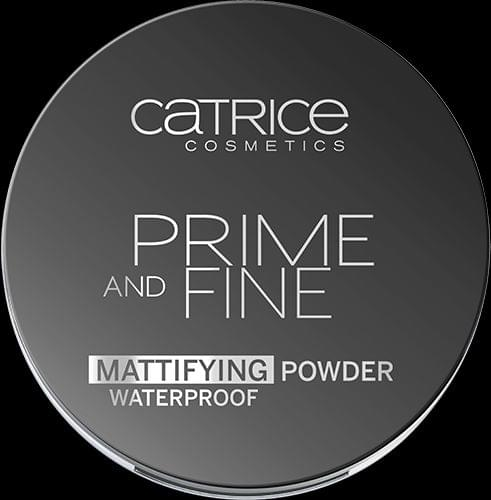 Swatch Poudre Matifiante Prime and Fine, Catrice