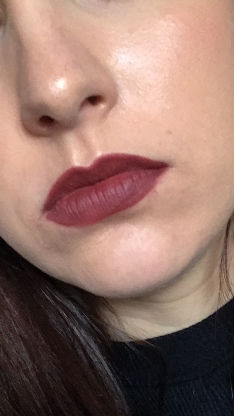 Swatch Lip injection extrême, Too Faced