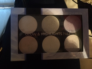 Swatch Glow & highlights palette, Action