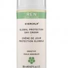 Evercalm Crème de Jour Protection Globale pour Peaux Sensibles, REN Skincare - Soin du visage - Crème de jour