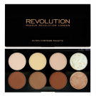 Palette Ultra contour, Makeup Revolution - Maquillage - Palette et kit de maquillage