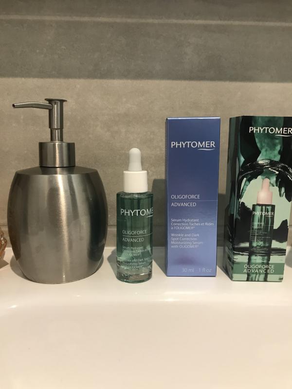Swatch OLIGOFORCE ADVANCED Sérum Hydratant Correction Taches et Rides à l'OLIGOMER®, Phytomer