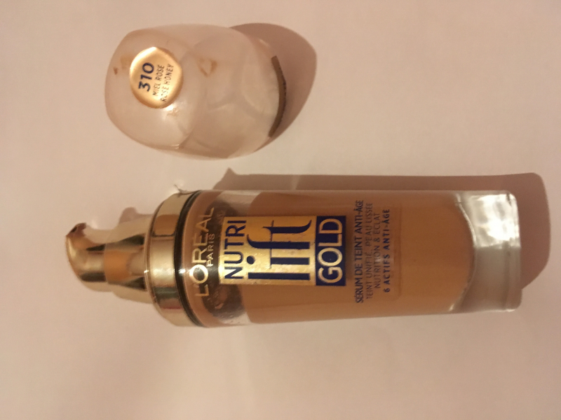 Swatch Nutri Lift Gold, L'Oréal Paris