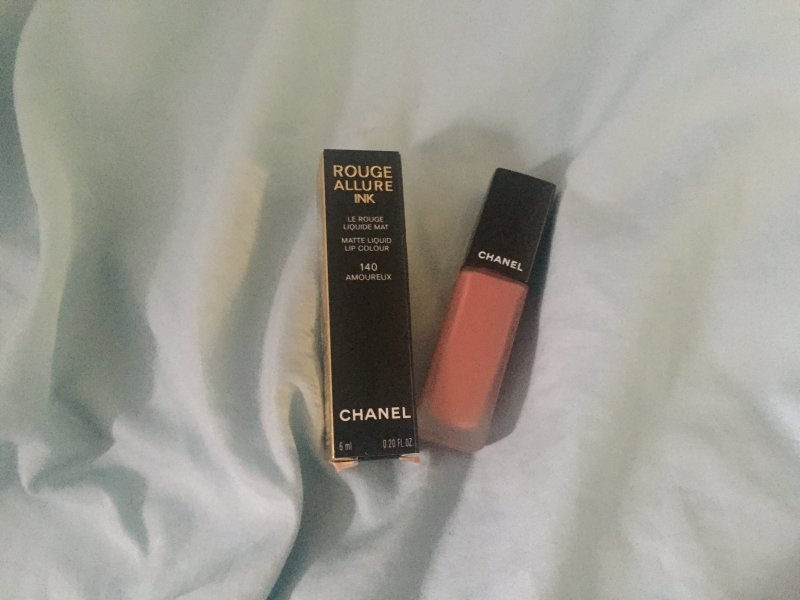 Swatch Rouge Allure Ink, Chanel