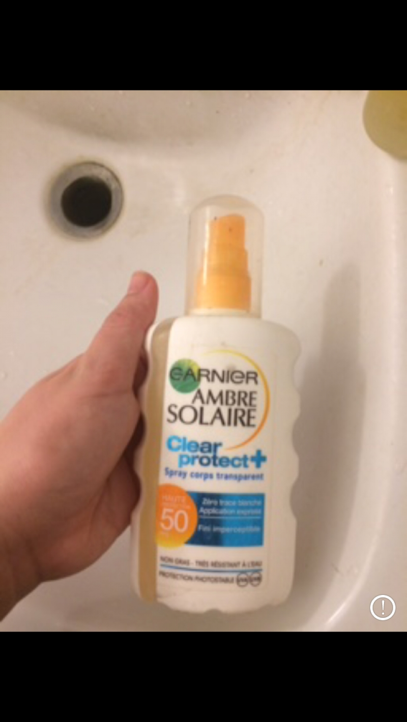 Swatch Spray protecteur hydratation 12 heures SPF 30, Garnier