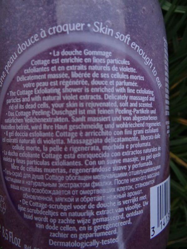 Swatch Douche Gommage Douceur - Le Sucre de Violette, Cottage