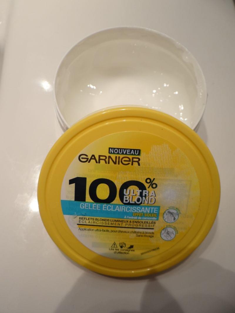 Swatch Gelée Eclaircissante - 100% Ultra Blond, Garnier