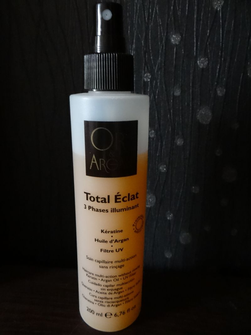Swatch Total Eclat - Spray 3 Phases illuminant, Or & Argan