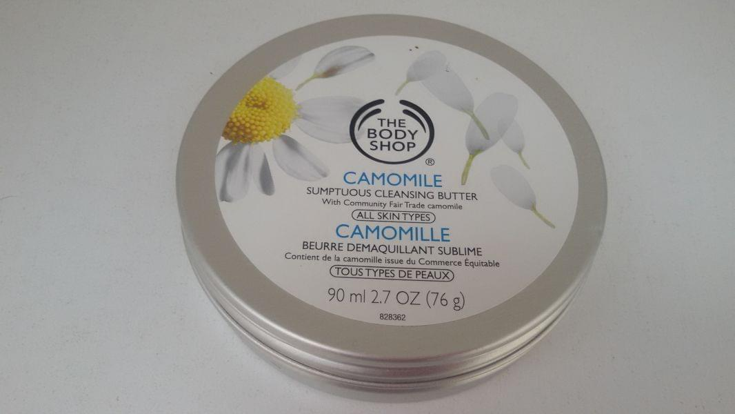 Swatch Beurre Démaquillant Sublime Camomille, The Body Shop