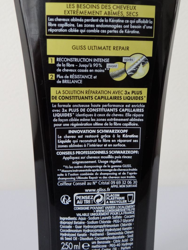 Swatch ULTIMATE REPAIR SHAMPOOING, Schwarzkopf