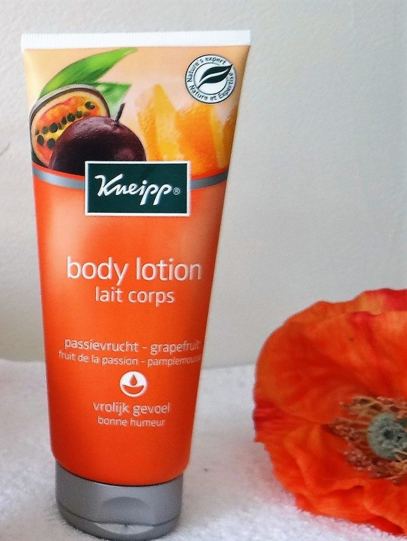 Swatch Lait corps Passion - Pamplemousse, Kneipp