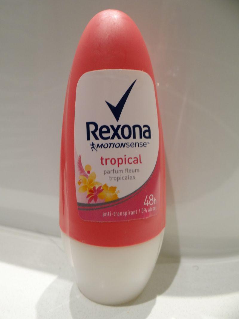 Swatch Déodorant femme bille tropical, Rexona