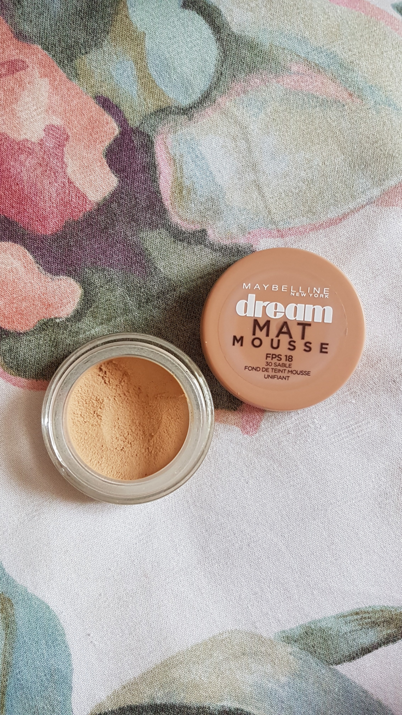 Swatch Dream Mat Mousse, Gemey-Maybelline
