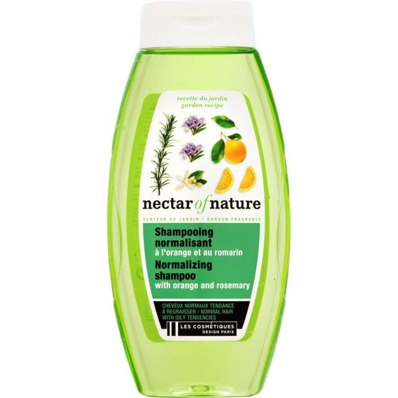 Shampoing normalisant à l'orange et au romarin Nectar of Nature, Les cosmétiques design paris - Infos et avis