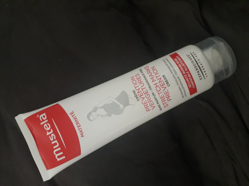 Swatch Crème Prévention Vergetures, Mustela