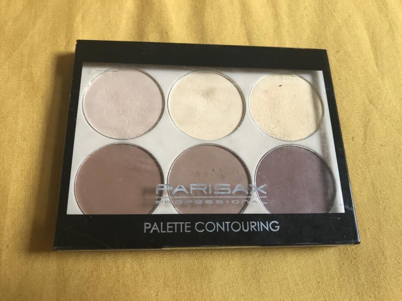Swatch Palette contouring, Parisax