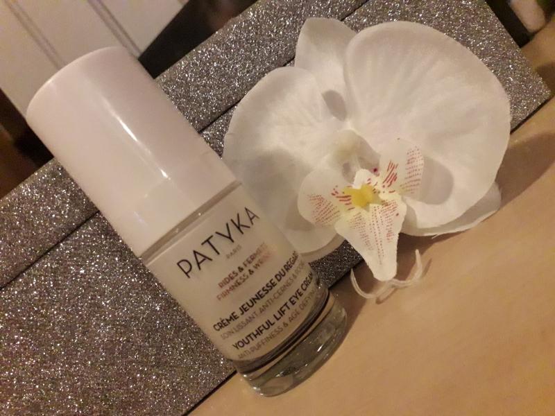 Swatch Crème Jeunesse du Regard, Patyka