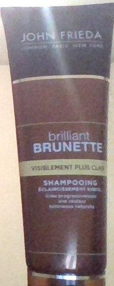 Swatch Brillant brunette, John Frieda