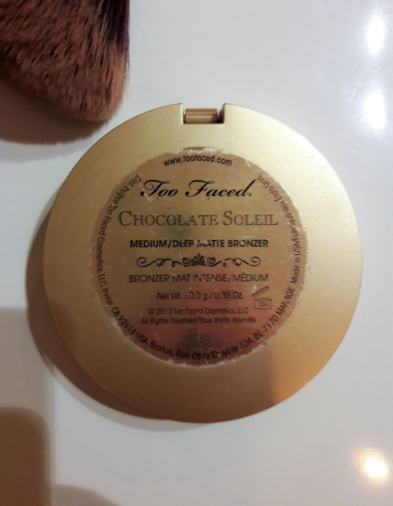 Swatch Chocolate Soleil Bronzer - Poudre Bronzante, Too Faced