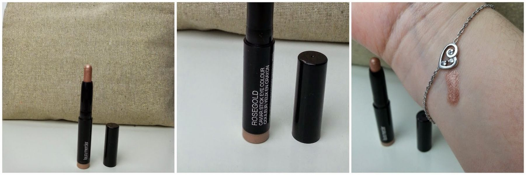 Swatch Caviar Stick, Laura Mercier