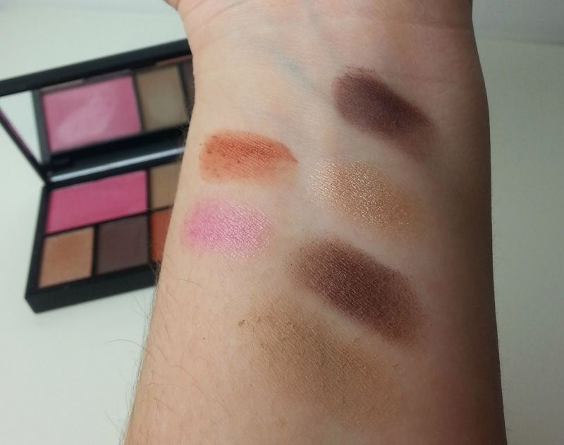 Swatch Eye and Cheek Palette, Sleek MakeUP