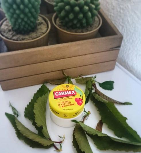 Swatch Baume à lèvres Cerise en pot, Carmex