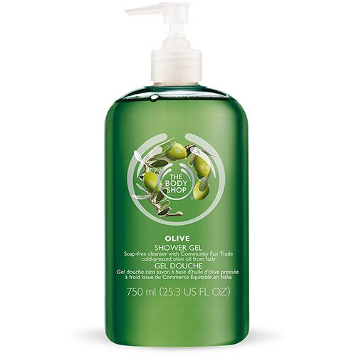 Gel douche Olive, The Body Shop : orchidee aime !