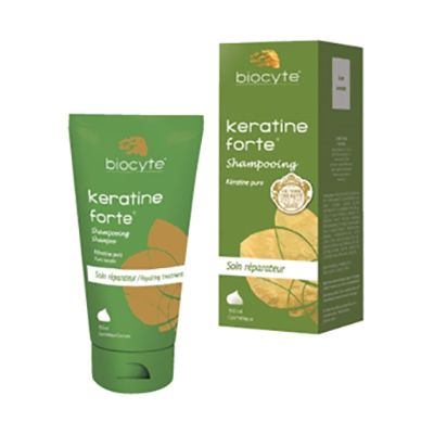 Keratine Forte Shampooing Soin Réparateur, Biocyte : orchidee aime !