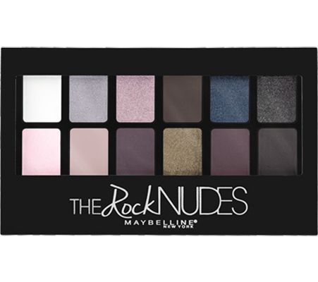 Palette The Rock Nudes, Gemey-Maybelline : orchidee aime !