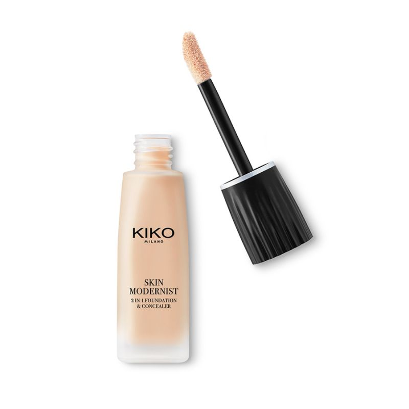Skin Modernist 2-In-1 Foundation & Concealer, Kiko : orchidee aime !