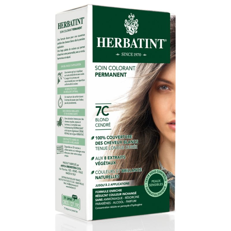 Gel Colorant Permanent, Herbatint : orchidee aime !