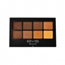 Ombres à paupières 8 couleurs Metallics, BYS - Maquillage - Palette et kit de maquillage
