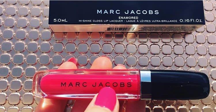 Swatch Lust for Lacquer - Brillant à lèvres Couleur translucide, Marc Jacobs Beauty