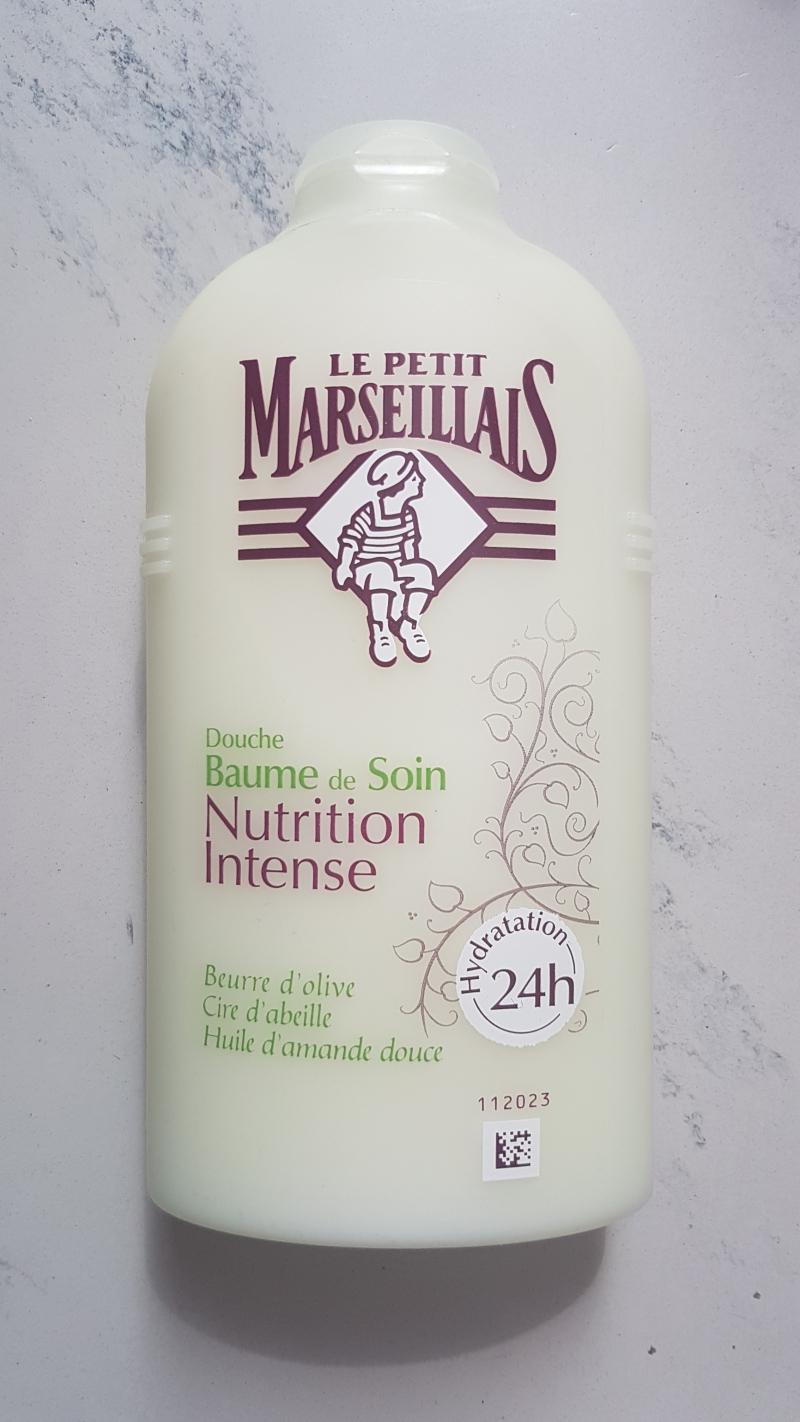Swatch Douche baume de soin nutrition intense, Le Petit Marseillais