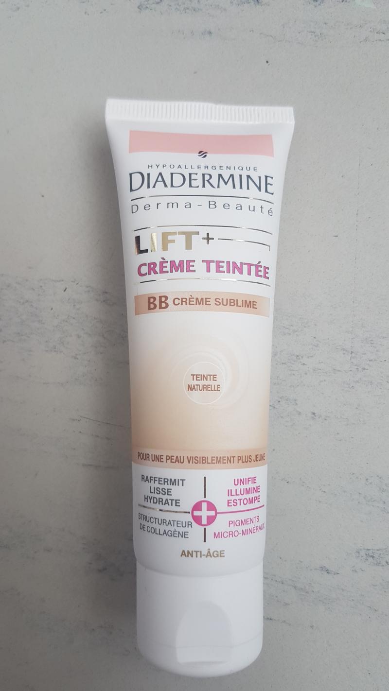 Swatch Lift   Crème Teintée BB Crème Sublime, Diadermine