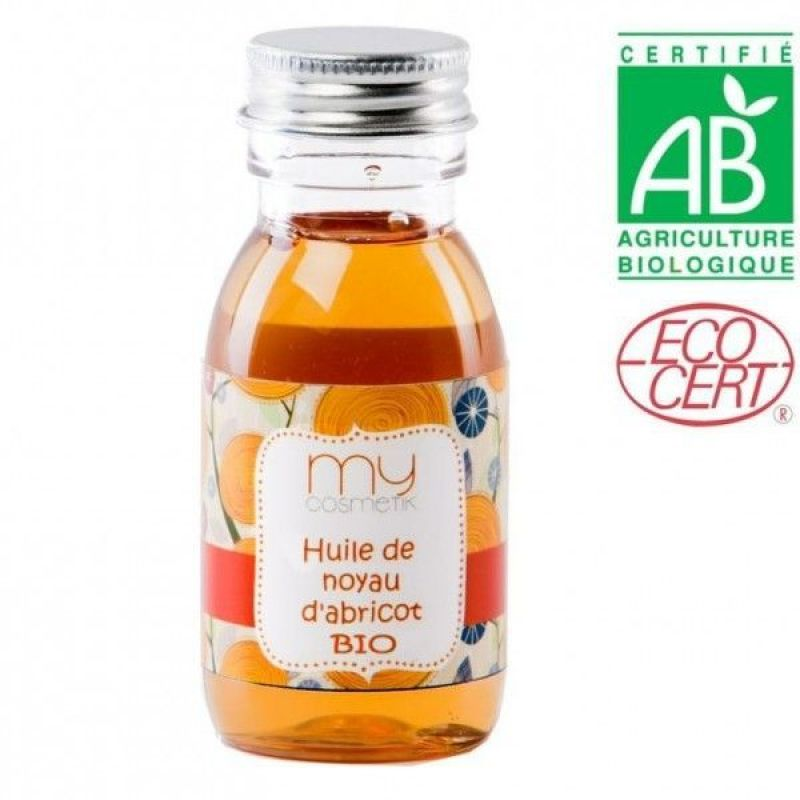 Huile de Noyau d'Abricot Bio, MyCosmetik - Infos et avis
