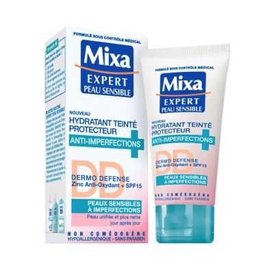 Hydratant Teinté Protecteur Anti-imperfections, Mixa - Infos et avis