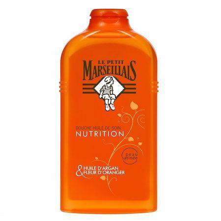Douche huile de soin nutrition à l'huile d'argan & fleur d'oranger, Le Petit Marseillais - Infos et avis