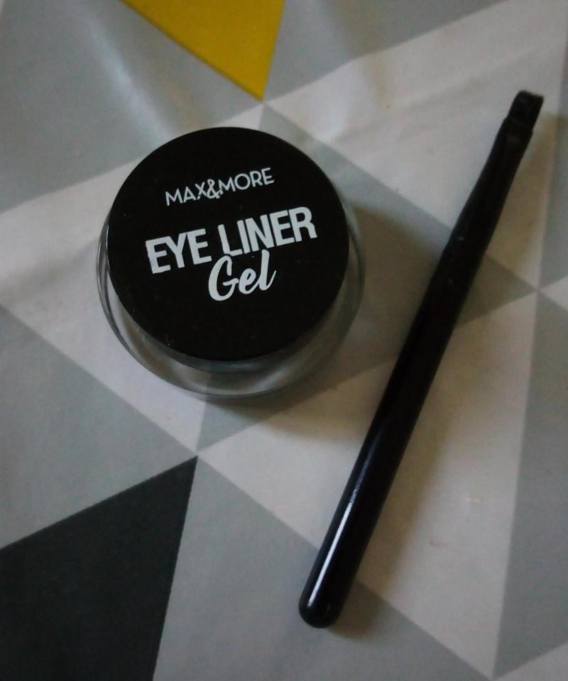 Swatch Gel Eye Liner, Max & More