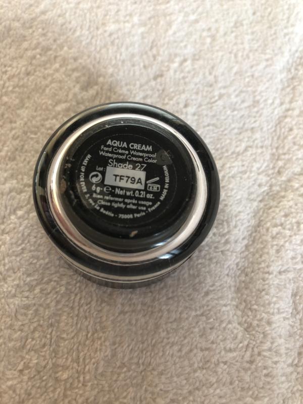 Swatch Aqua Cream - Fard Crème Waterproof pour les paupières, les lèvres et les joues, Make Up For Ever
