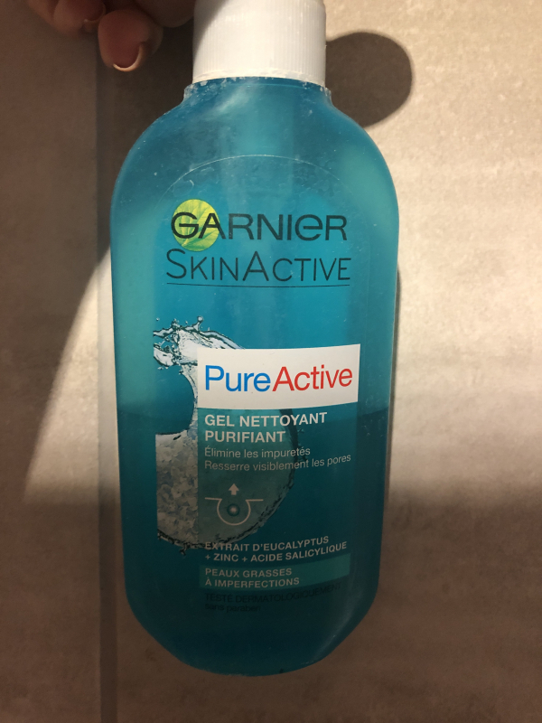 Swatch Pure Active Gel nettoyant assainissant, Garnier