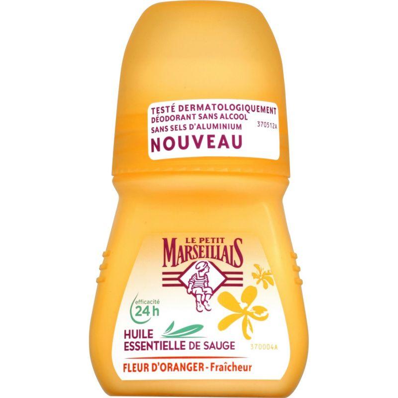 Déodorant Bille Huiles Essentielles Sauge et Fleur d'Oranger, Le Petit Marseillais - Infos et avis