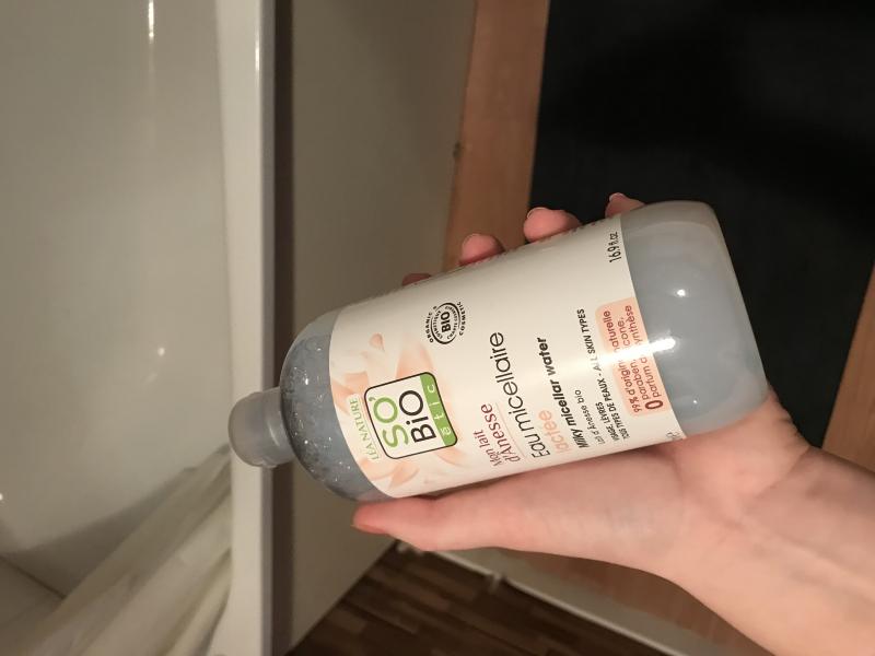 Swatch Eau micellaire lactée mon lait d'ânesse, So'bio Etic